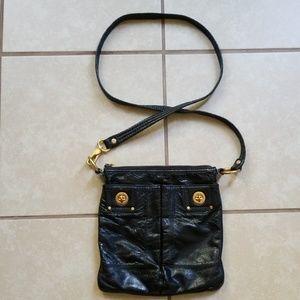 MARC JACOBS Wrinkled Leather Crossbody Bag